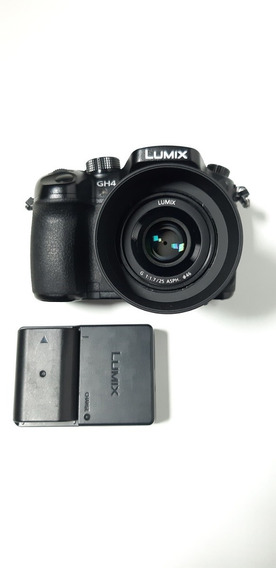 Camera Panasonic Gh4 Com Lente 25mm F/1.7 Panasonic E Vlog