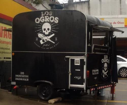 Trailer - Food Truck Com Ou Sem Franquia