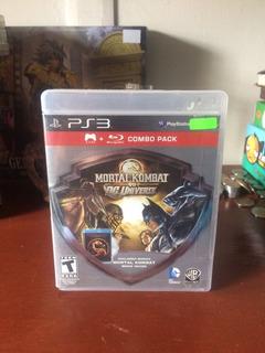Mortal Kombat Vs Dc Universe Ps3 - Demon Games Store