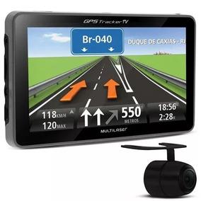 Gps Tracker 4,3 Com Camera De Ré Radar Tv Fm Radar