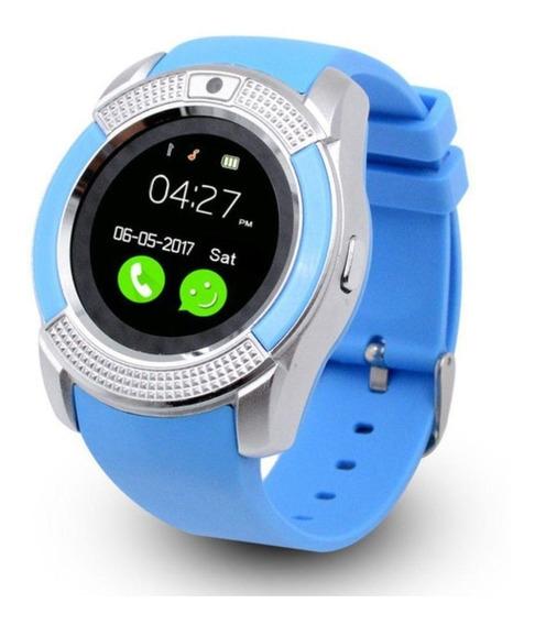 Smartwatch Reloj Inteligente V8 Bluetooth / Mundo Electro