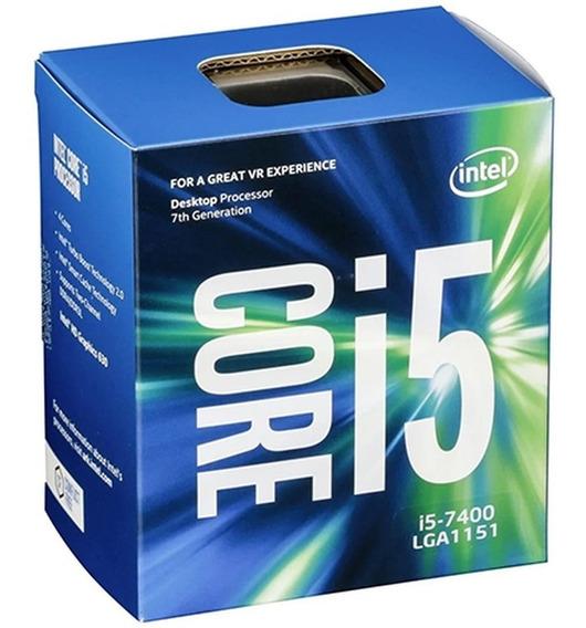 Processador Intel Core I5-7400 Lga1151 + Nota Fiscal