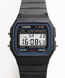 Relógio Masculino Casio Digital F-91w