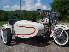 Hermoso Sidecar, Sugetable A Cualquier Moto Harley