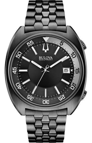 Bulova Accutron Ii 98b219 Snorkel Watch Acero Inoxidable