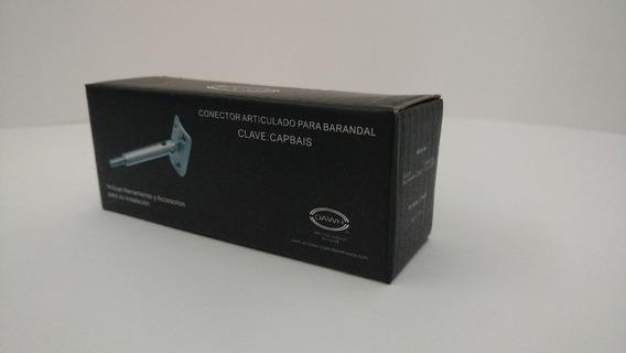 Conector Articulado Para Barandal Acero Inox. 304 Capbais
