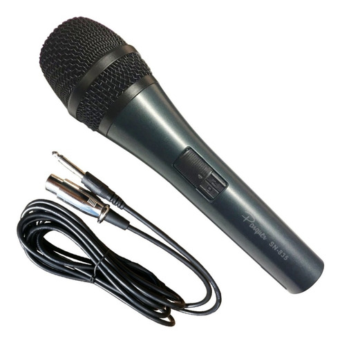 Imagen 1 de 10 de Microfono Vocal Parquer Profesional Para Cantar 835