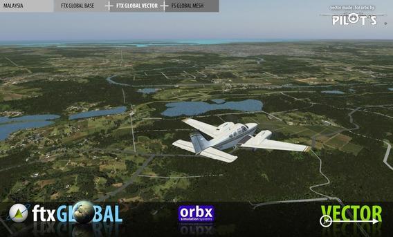 Orbx Global, Vector E Openlc South America Para Fsx