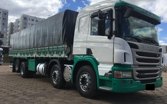 Scania P310 2014 C/ Carroceria Graneleiro Entrada + Parcelas