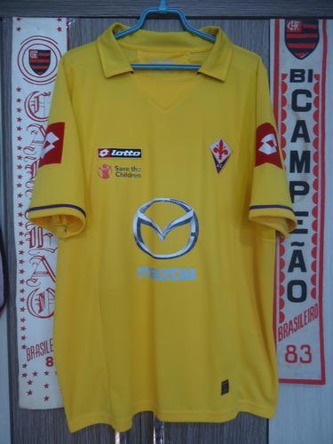 Camisa Fiorentina ( Itália / Amarela )