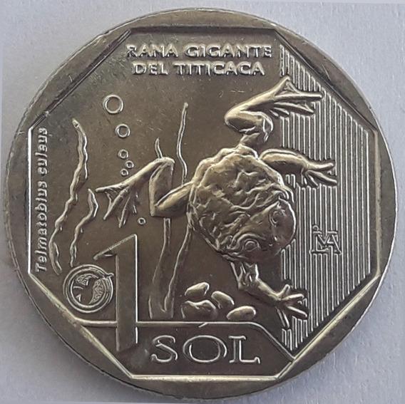 Perú Moneda De 1 Sol Del Año 2019 - Fauna - Sin Circular