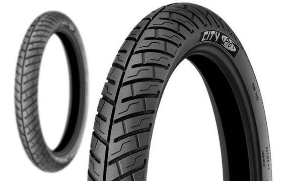 Par De Pneu 275-18 + 90/90-18 Michelin City Pro Titan Ybr