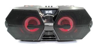 Parlante Bafle Potenciado Crown Mustang Djs650 Bluetooth Si