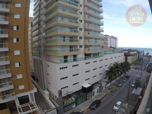 Apartamento À Venda, 106 M² Por R$ 495.000,00 - Tupi - Praia Grande/sp - Ap4233