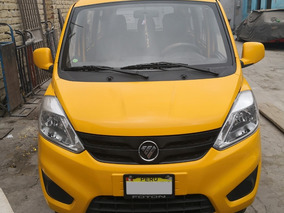 Minivan Foton 1.3 Dual - Glp 2018 - Taxi Colectivo
