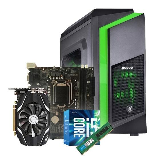 Pc Montado Intel Core I5 Vga Msi Gtx1050 Oc 8gb Led