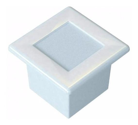6 Un Luminaria Embutir Alumínio Germany 6600 Branco