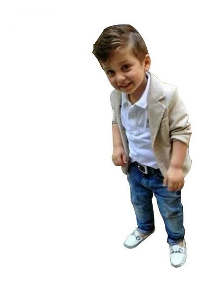 Roupa Infantil Social Masculina Conjunto Blazer/camisa/calça