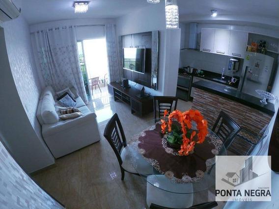 Apartamento No Reserva Das Praias Com 2 Dormitórios À Venda, 67m² - Ponta Negra - Manaus/am - Ap0587
