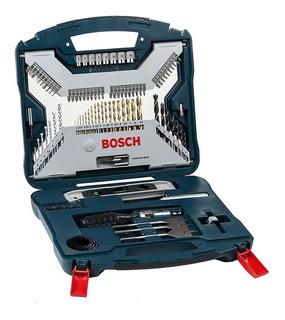 Juego Set Kit Mechas Titanio Y Puntas Dest Bosch 100 Piezas