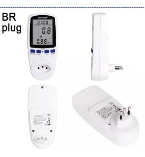 Wattímetro Digital Medidor Energia Br110v 220v