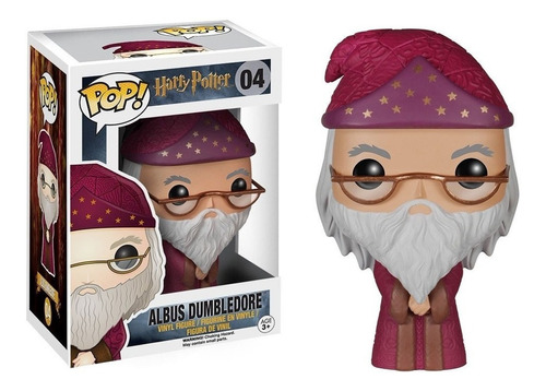Imagem 1 de 4 de Funko Harry Potter Dumbledore 04 Bruxo Magia Filme
