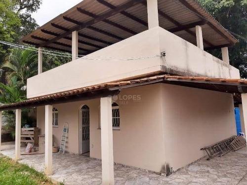 Chácara Com 3 Dormitórios À Venda, 1200 M² Por R$ 470.000,00 - Monjolos - São Gonçalo/rj - Ch0007