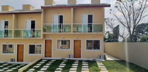 Imagem 1 de 8 de Casas Germinadas - 2 Dorms - Residencial Nápoles - Ca4666