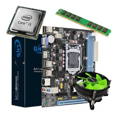 Kit Upgrade Gamer Intel I3 Lga 1155 / Afox H61 / 4gb Ddr3