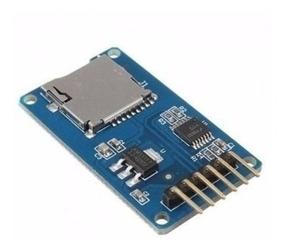 Arduino Micro Sd Cartão De Tf Leitor De Cartão De Módulo Spi