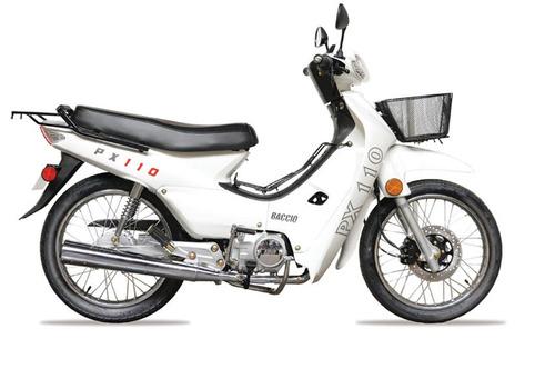 Motos Moto Baccio Px110 . Hasta En 36 Cuotas