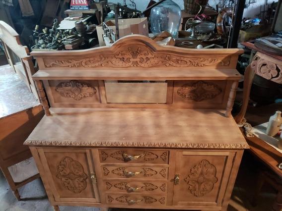 Mueble De Roble Antiguo Buen Estado Envios
