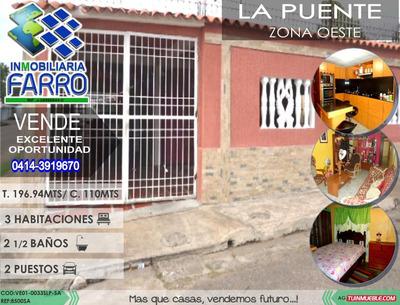 Venta De Casa En La Puente Ve01-0033lps-sa