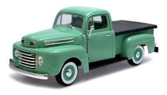 1948 Ford F-1 Pickup Verde - Escala 1:18 - Yat Ming
