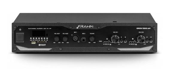 Amplificador Profissional Frahm - Gr 5500 App 600w