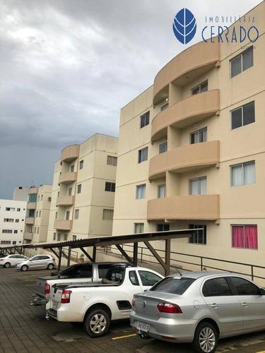 Imagem 1 de 11 de Apartamento À Venda No Residencial Cora Coralina - Ap4232344
