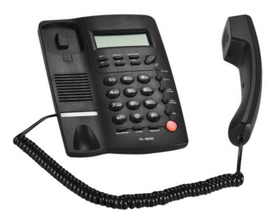Telefono Alambrico Caja 20 Piezas Pantalla Homedesk Tc-9200