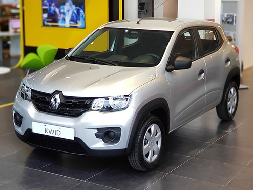 Renault Kwid Zen 1.0 Gris 2020 0km Contado Financiado