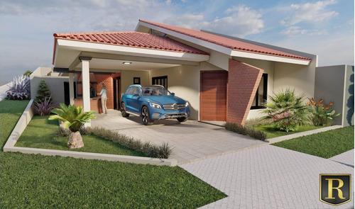Imagem 1 de 4 de Casa Para Venda Em Guarapuava, Morro Alto, 3 Dormitórios, 1 Suíte, 1 Banheiro, 2 Vagas - Cs-0079_2-1214515