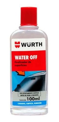 Imagem 1 de 2 de Cristalizador Imperbeabiliza Vidros 100ml Wurth Water Off