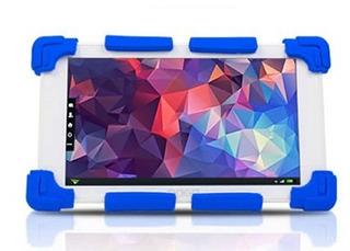 Funda Noganet Ng-fun / Para Tablet De 7 / Silicona / Azul