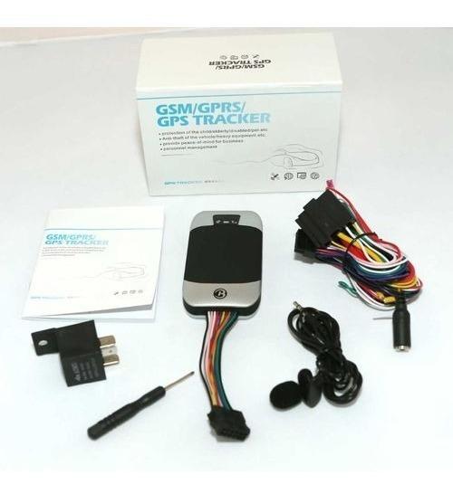 Rastreador Gps Bloqueador Veicular Carro Moto Tracker Tk303g