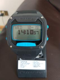 Relógio Freestyle Shark Tooth Bluetooth - Preto/azul -48 M