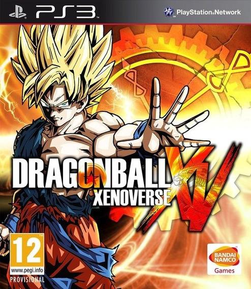 Dragon Ball Xenoverse Xv - Psn Ps3 - Envio Imediato