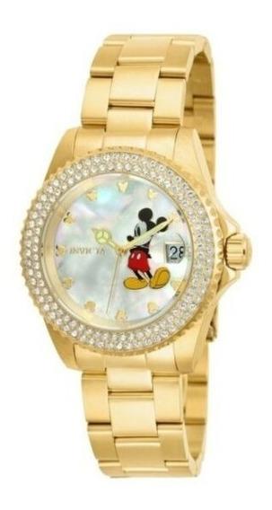 Invicta Disney Edição Limitada Mickey Mouse Womens Quartz 40