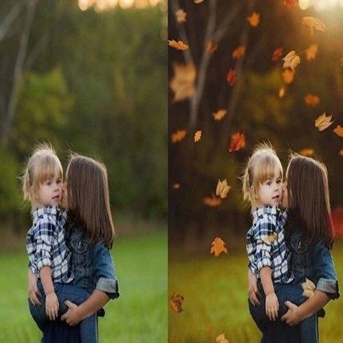 40 Overlays De Folha Para Edição De Fotos No Photoshop
