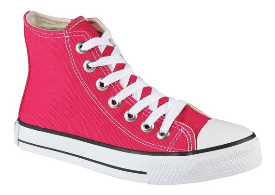 Tênis Converse All Star Cano Alto Pink/rosa