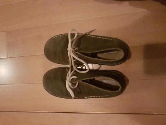 Botas Cheeky Cuero Gamuza N°32. Zapatos Impecables. Unisex