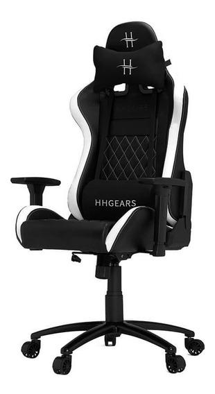 Silla Hhgears Xl-500 Gamer 3d Ergonómica Negro/ Blanca