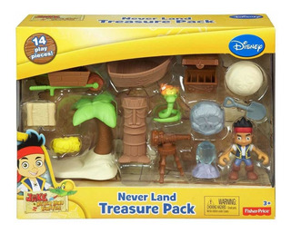Jake El Pirata - Never Land Treasure Pack - Fisher Price